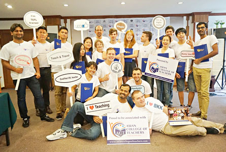 Inclass TEFL Course in Phuket